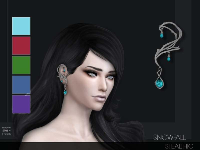 Кафф - Snowfall Ear Cuff L/R