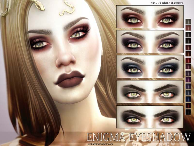 Тени для век - Enigma Eyeshadow N24