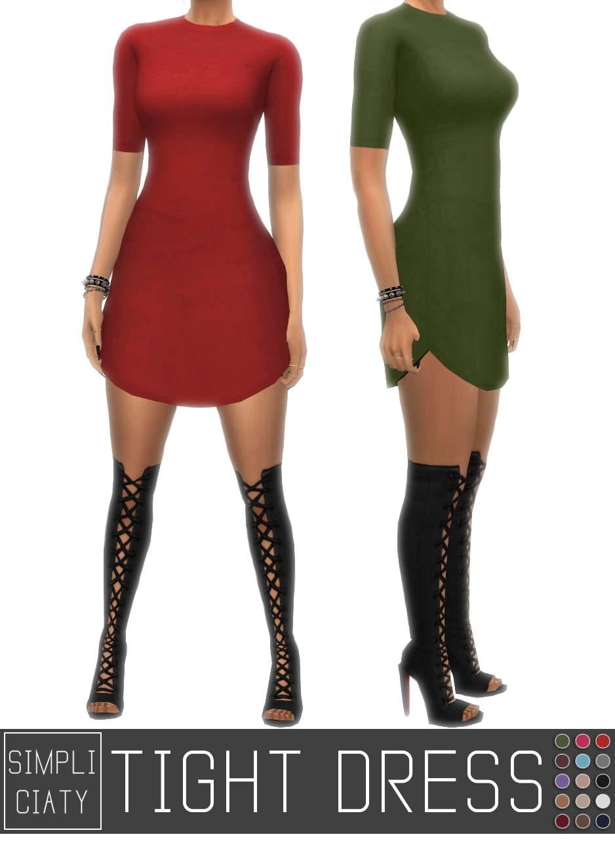 Платье - TIGHT DRESS - V2