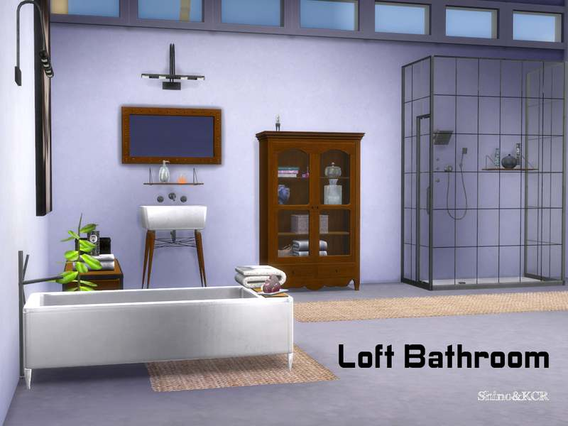 Ванная - Loft Bathroom