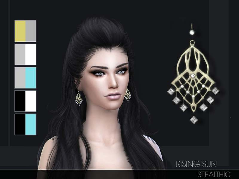 Серьги - Rising Sun Earrings