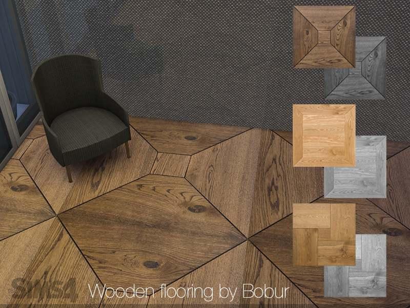 Напольное покрытие - Wooden flooring