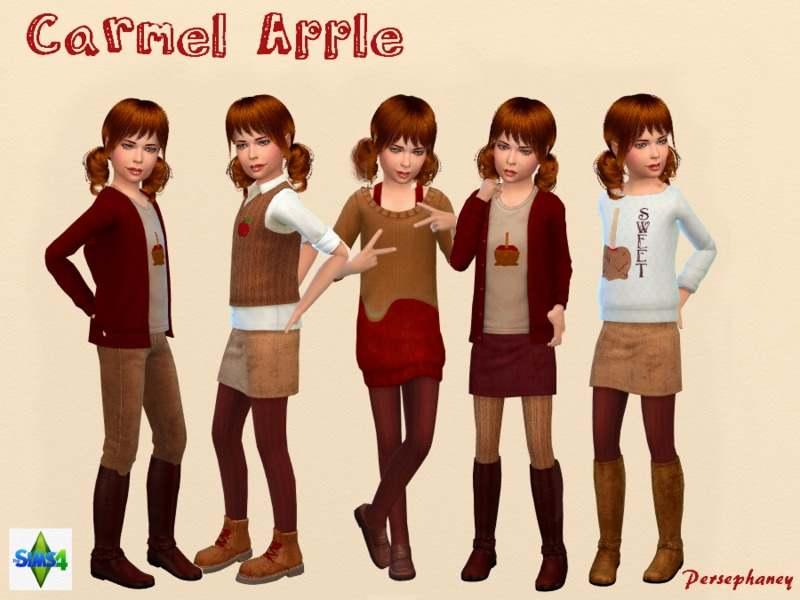 Набор одежды и обуви  для детей - Caramel Apple Set