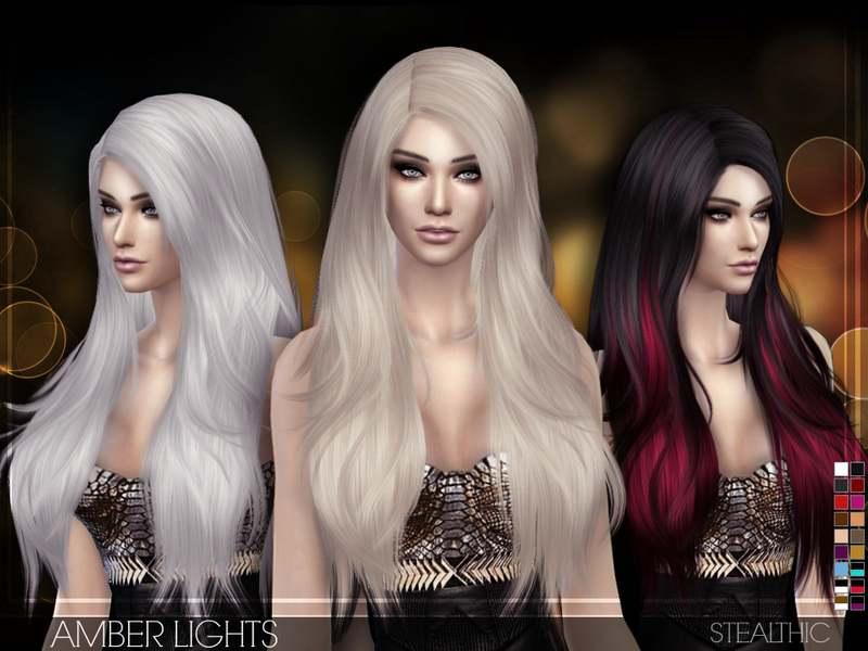 Прическа - Amber Lights