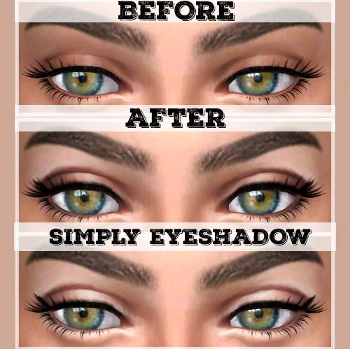 Макияж глаз - Simply-Eyeshadow