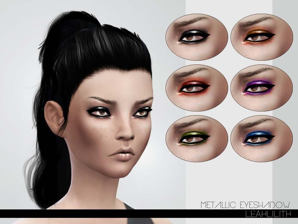 Тени для век - Metallic Eyeshadow