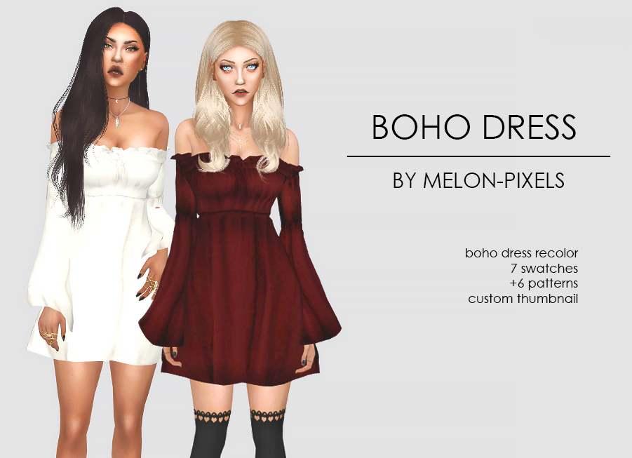 Платье - BOHO DRESS RECOLORS