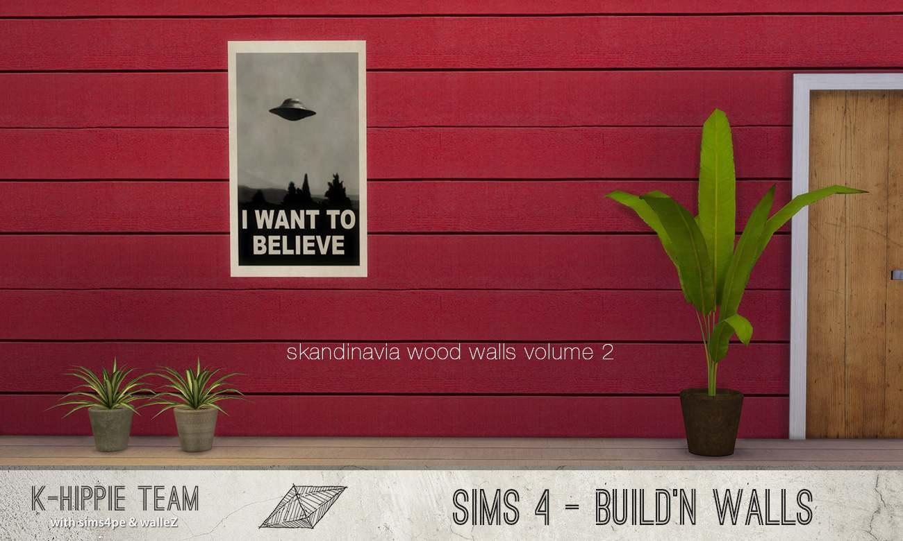 Настенное покрытие - Skandinavia Wood Walls volume 2