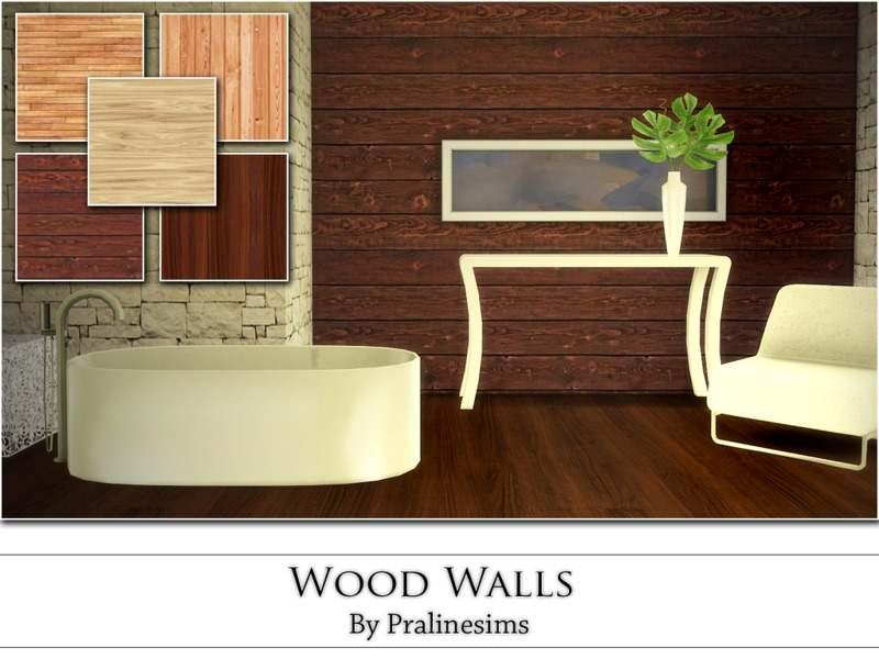 Набор настенных покрытий - Wood Walls