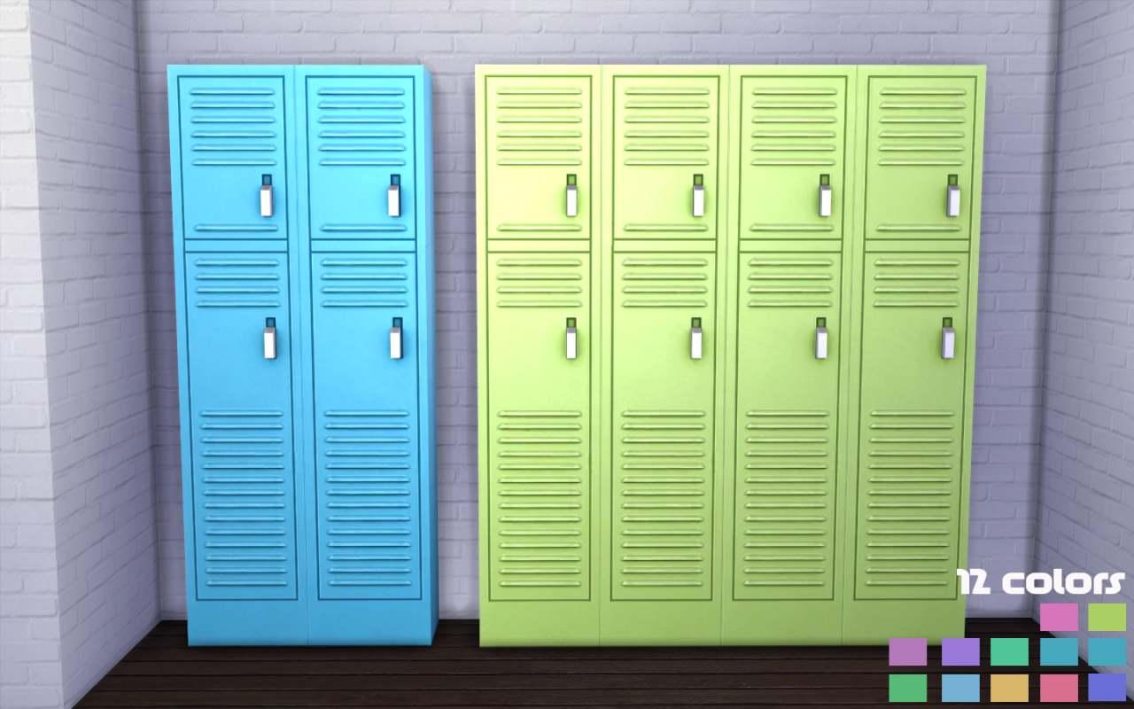 Шкафчики - Gym Lockers in 12 Nyren Kosmik Colors