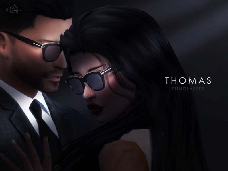 Стильные солнцезащитные очки - THOMAS