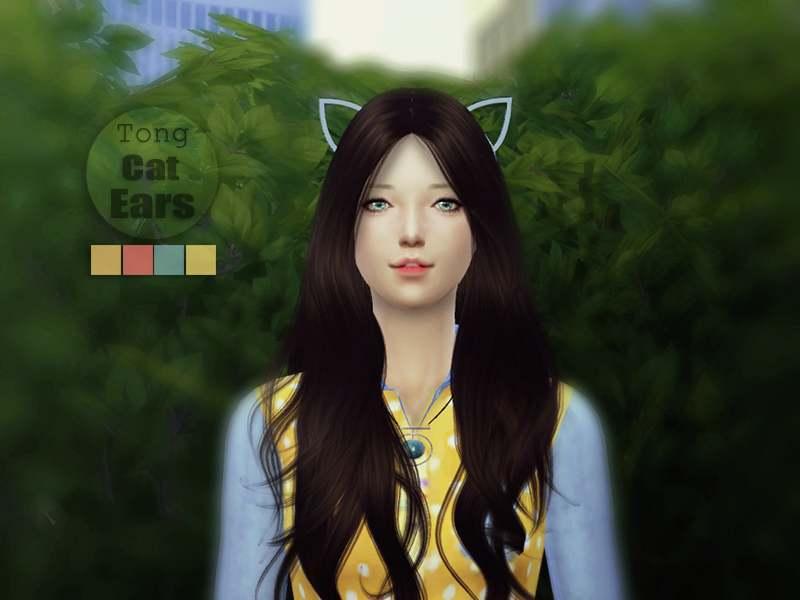 Ободок - Cat-Ears