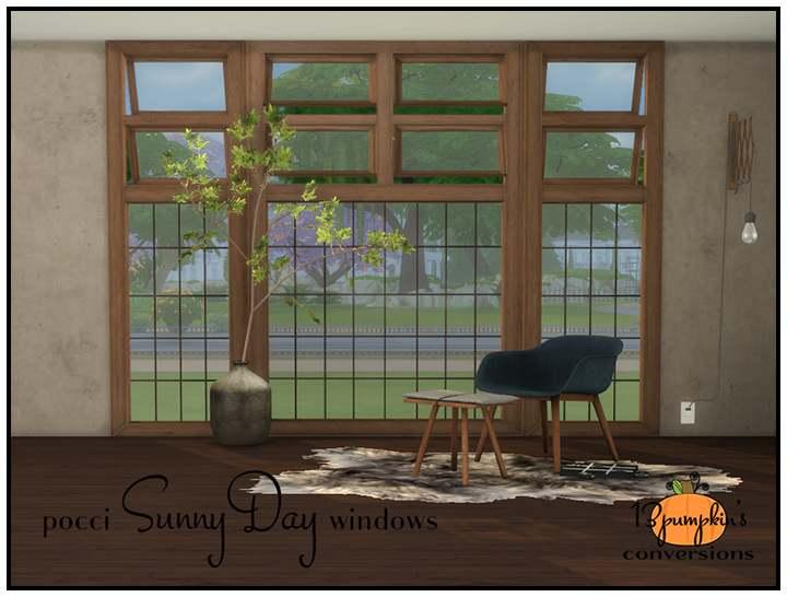 Набор окон - pocci SunnyDay windows
