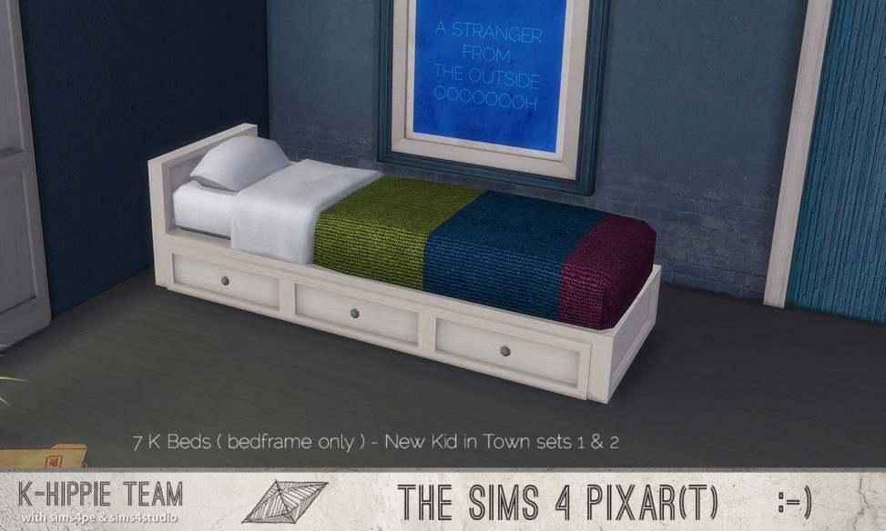 Каркас кровати - 7 K Bedframes