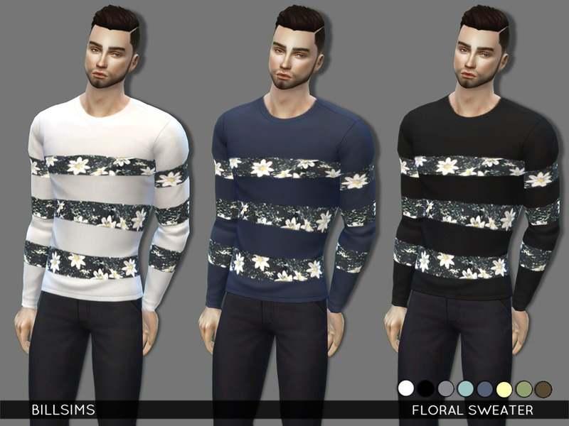 Свитер - Floral Sweater