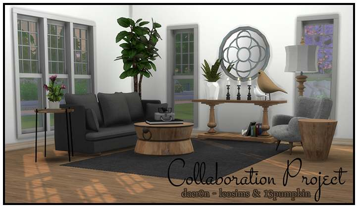 Гостиная - DL13 Collaboration project