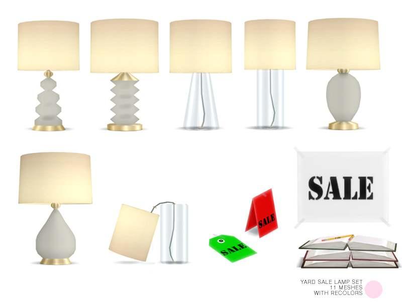 Набор - Yard Lamp Sale Set