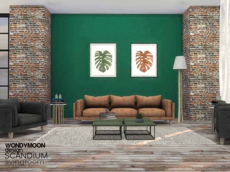 Гостиная - Scandium Livingroom