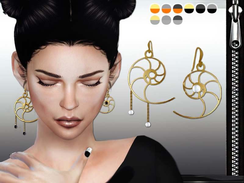 Серьги - MFS Nautilus Earrings
