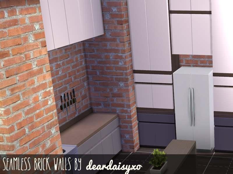 Настенное покрытие - Seamless Brick Walls