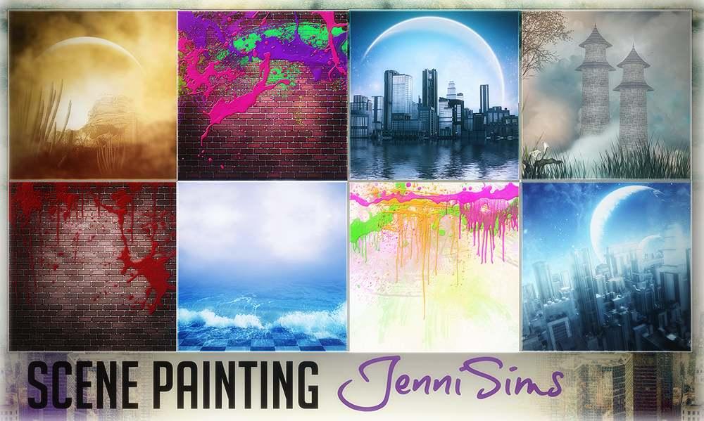 Картины - Scene Painting