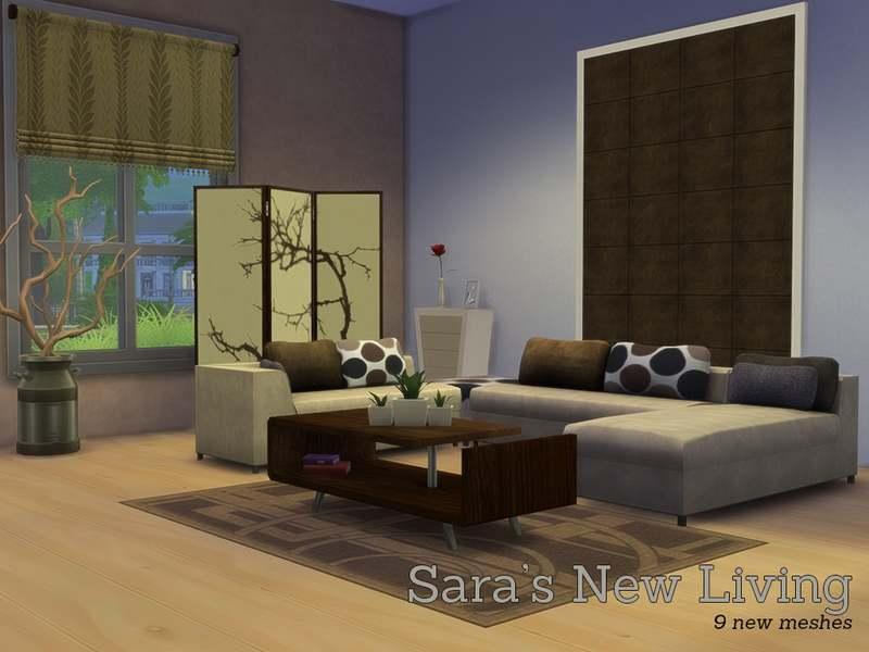 Гостиная - Sara's New Livingroom