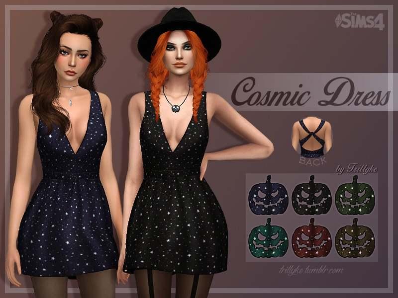 Космические платье - Cosmic Dress