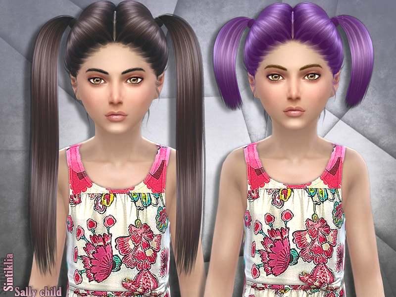Прически для девочек - Hair set Sally child