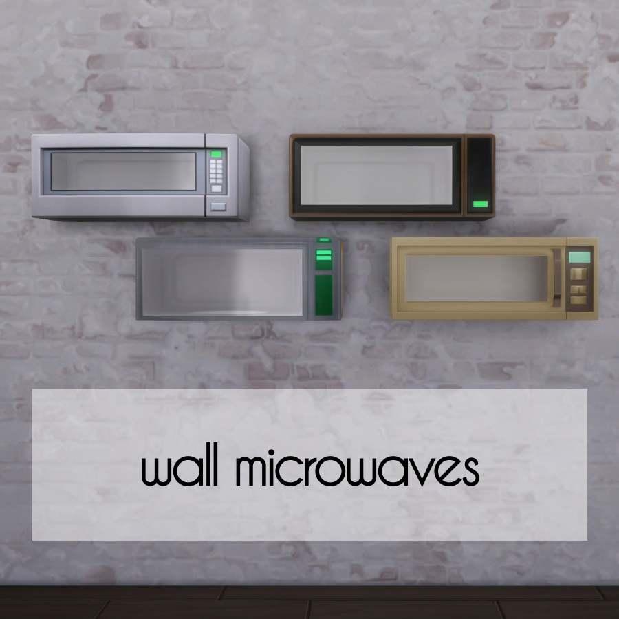 Набор настенных микроволновых печей - Wall Microwaves