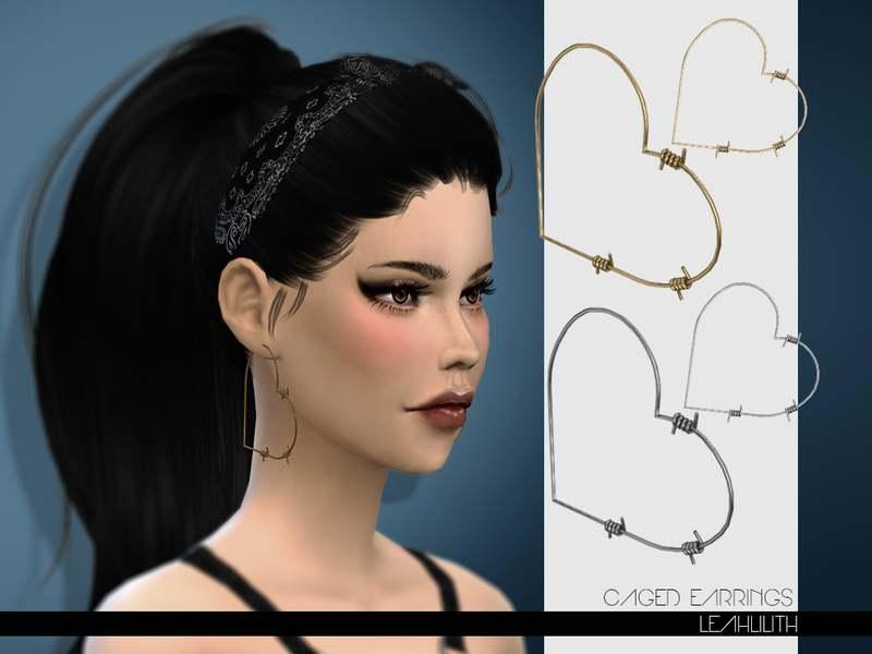 Серьги - Caged Earrings