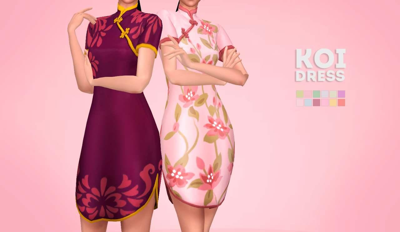 Платье - koi dress