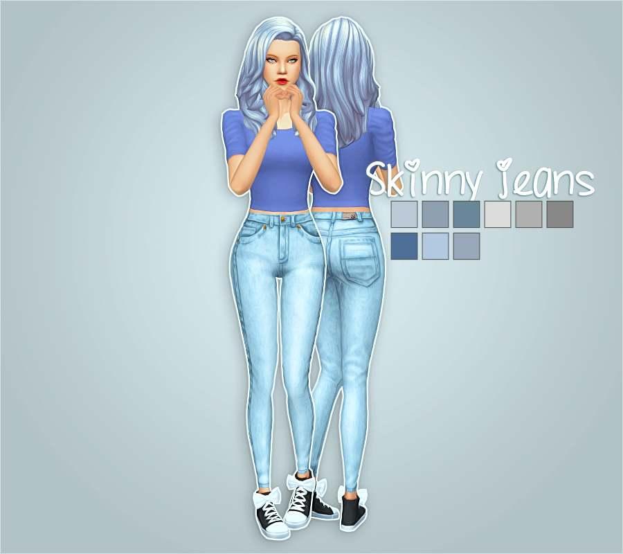 Джинсы - skinny jeans