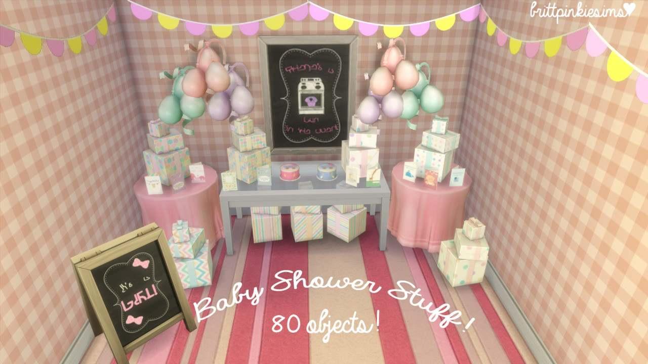 Набор для вечеринки - Baby Shower Stuff