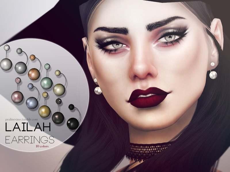 Серьги - Lailah Earrings