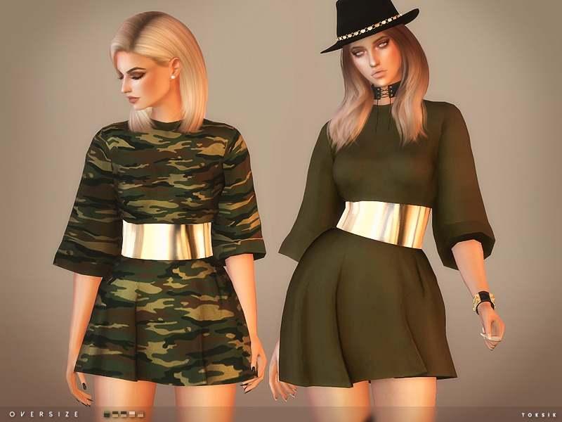 Платье - Oversize Dress