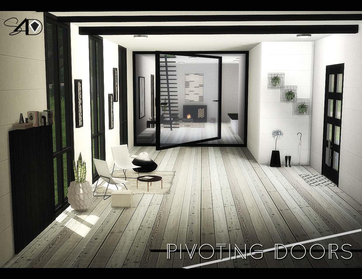 Дверь - Pivoting Doors