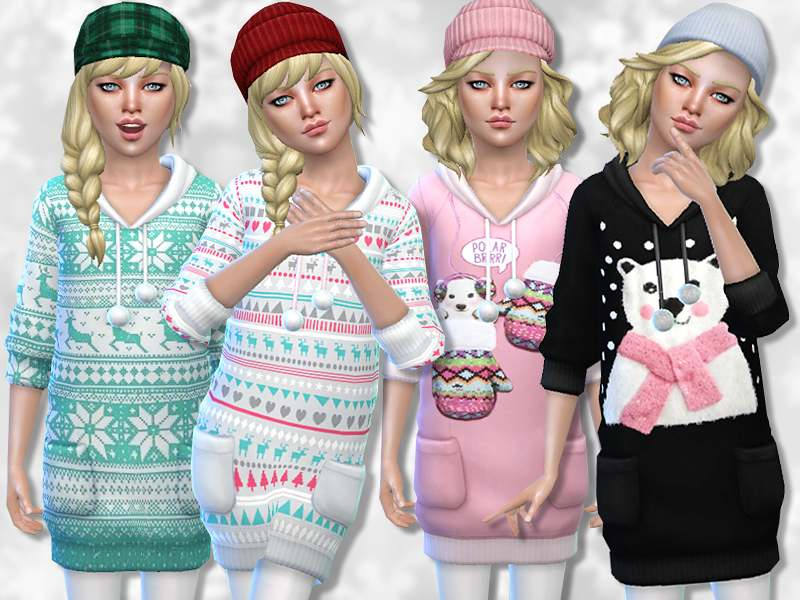 Туника - Winter Charm Sweater Collection