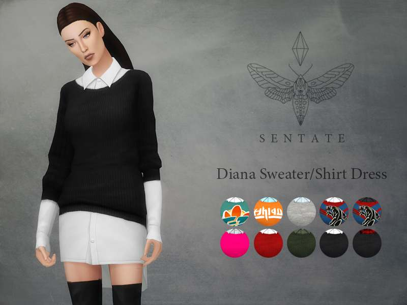 Комплект - Diana Sweater/Shirt
