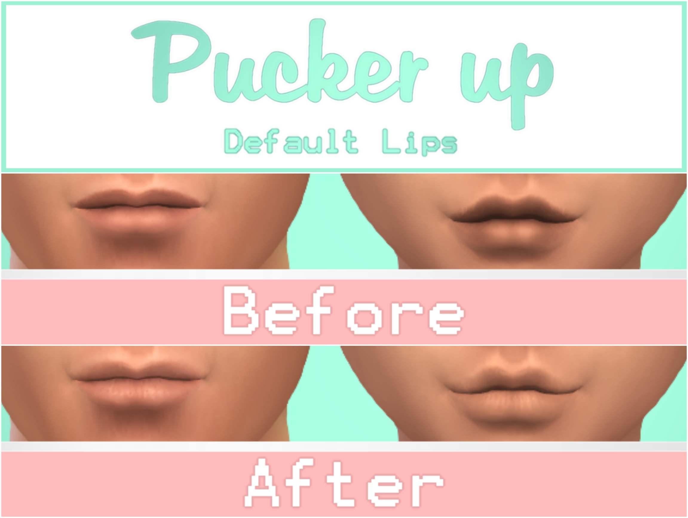 Маска для губ - Pucker up