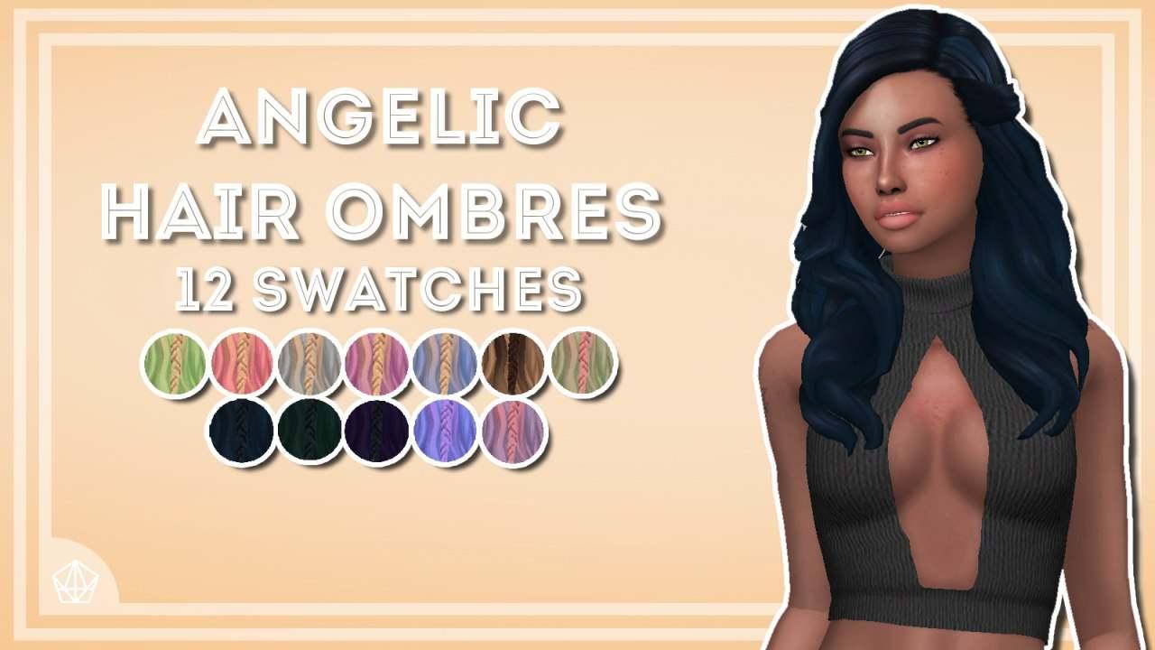 Женская прическа - Angelic Hair Ombres