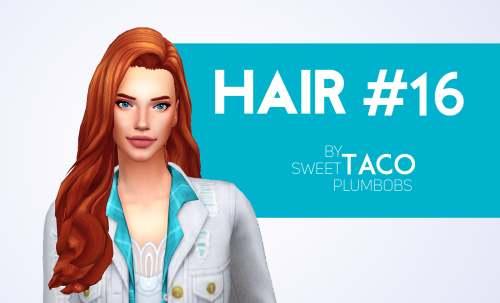 Женская прическа - HAIR #16