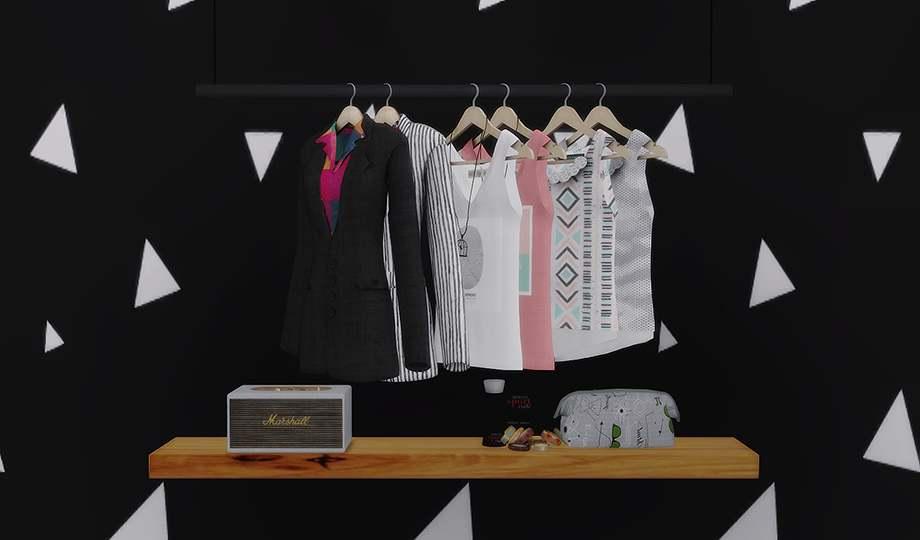 Набор объектов для гардеробной комнаты - MISC CONVERSIONS III