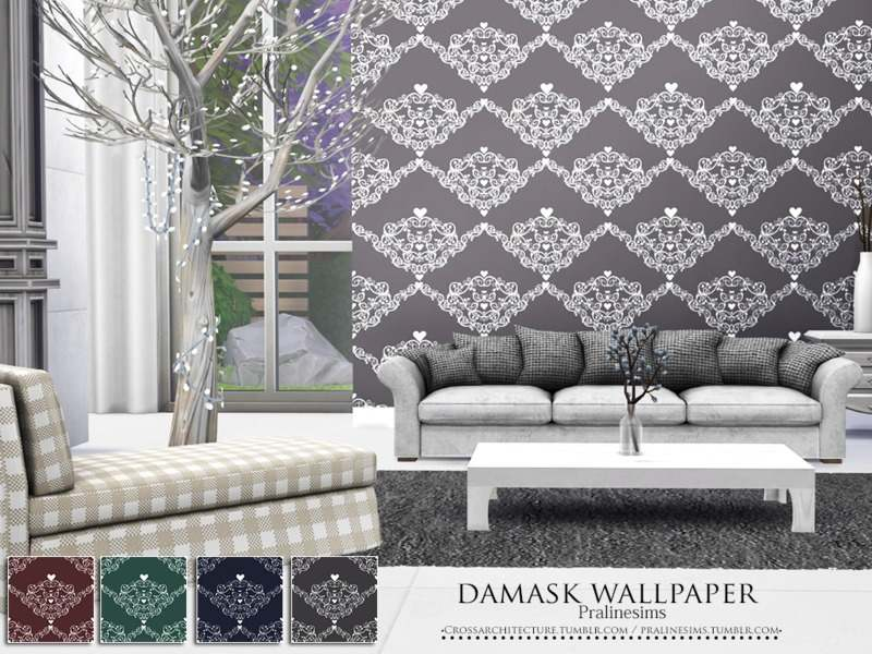 Обои - Damask Wallpaper