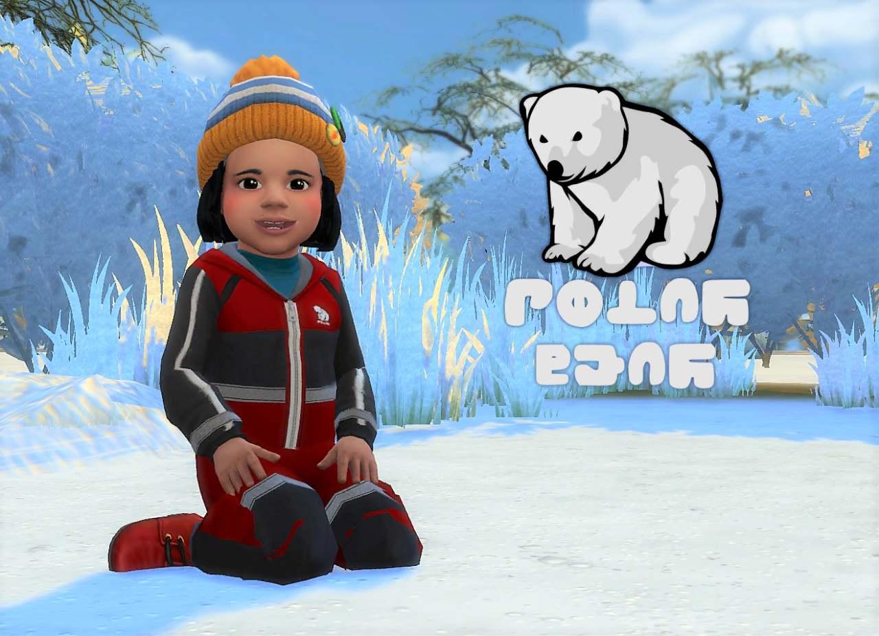 Комбинезон - Polar Bear