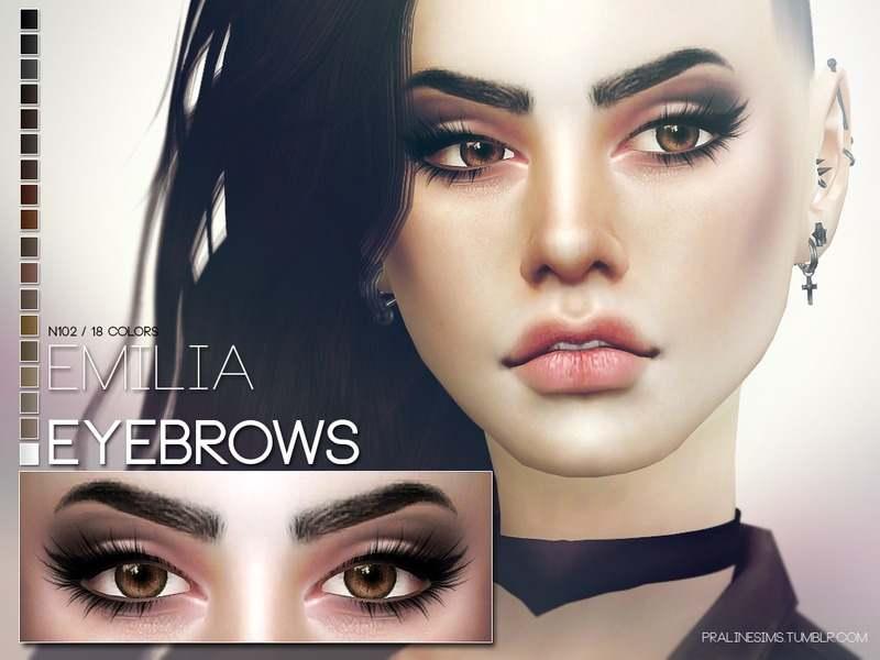 Брови - Emilia Eyebrows N102