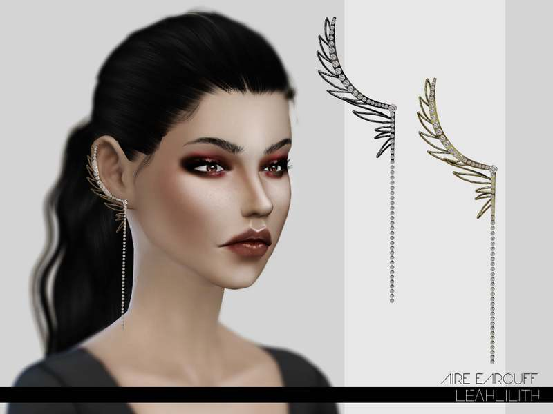 Кафф - Aire Earrings