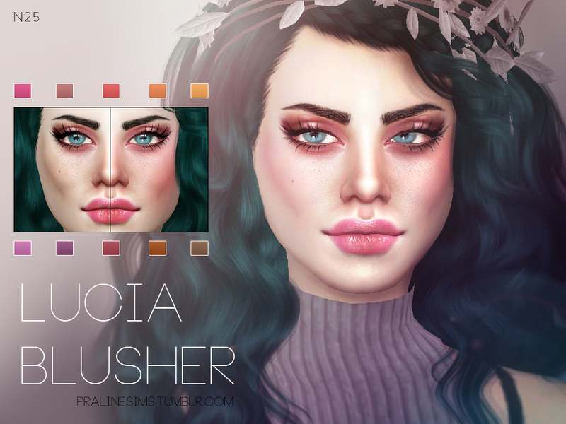 Румяна - Lucia Blusher N25