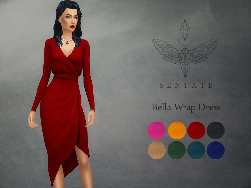 Платье - Bella Wrap Dress