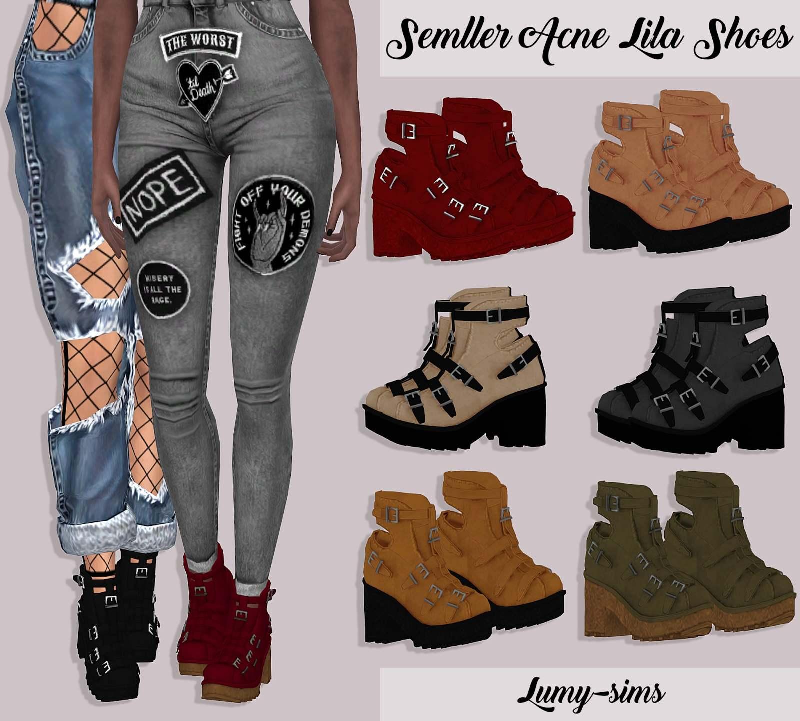 Ботильоны - Semller Acne Lila Shoes