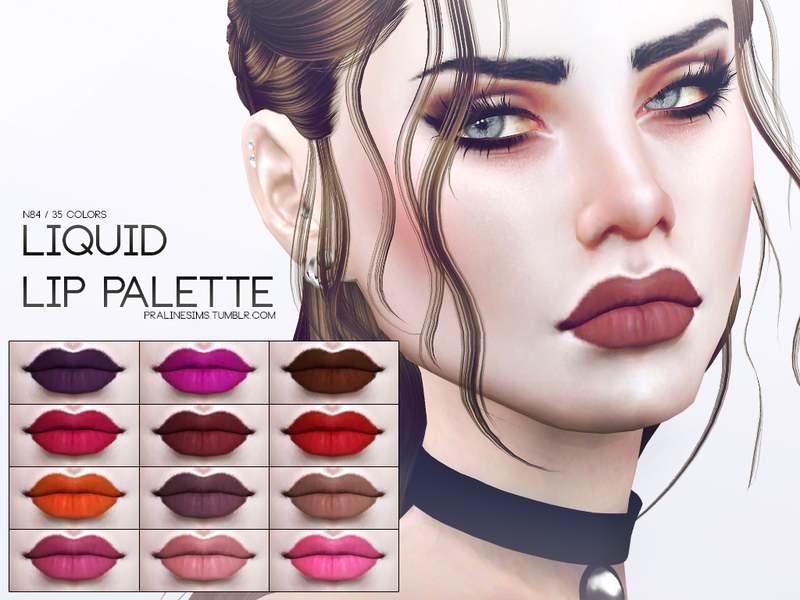 Помада - Liquid Lip Palette N84